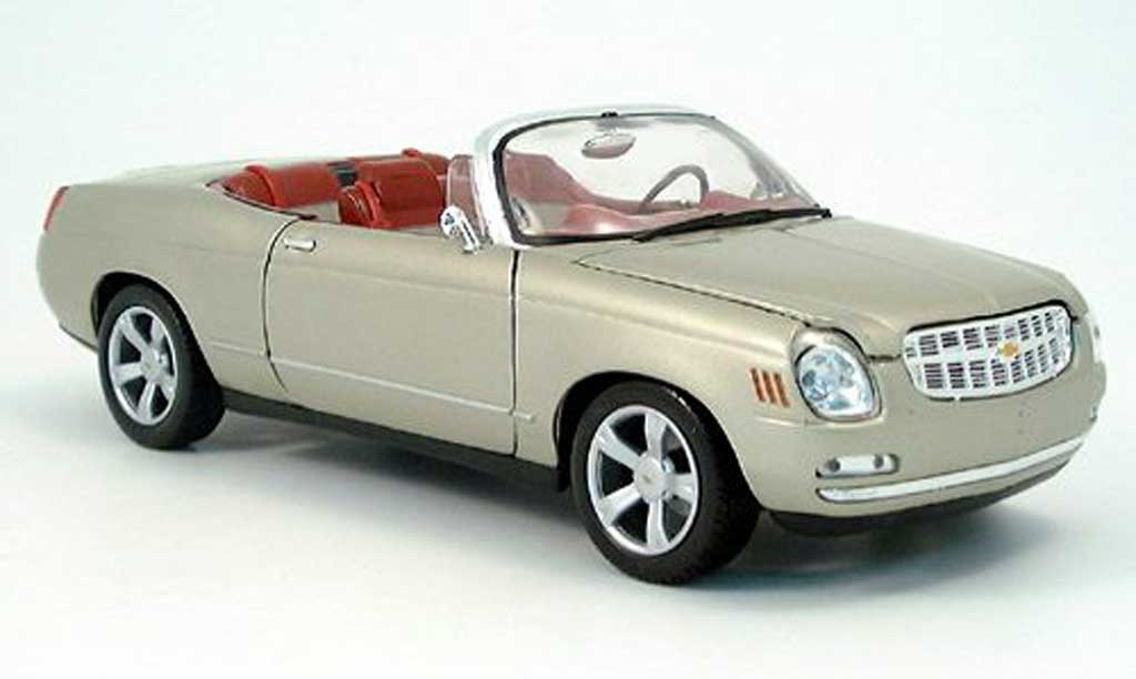 Chevrolet Bel Air Concept 1/18 Motormax cabriolet beige miniature