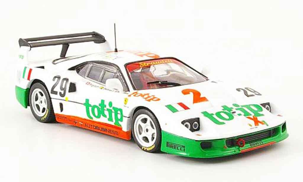Ferrari F40 LM 1/43 IXO racing no. 29 totip 1985 miniatura