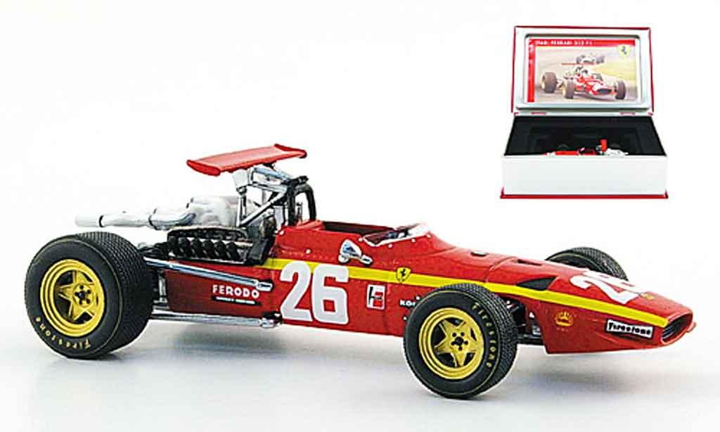 Ferrari 312 F1 1/43 IXO no.26 sieger frankreich jacky ickx 1968 miniature