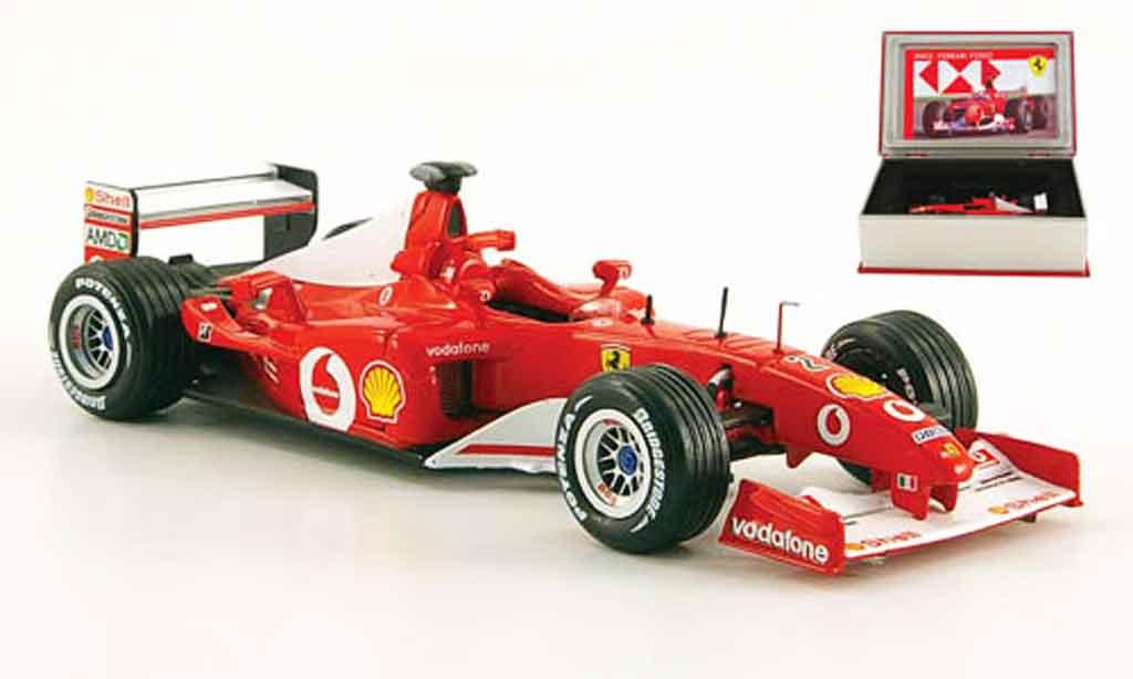 Ferrari F1 F2002 1/43 IXO no.2 sieger gp deutschland 2002 miniature