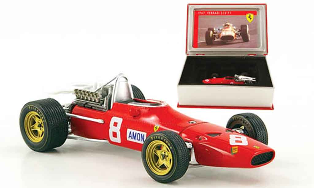 Ferrari 312 F1 1/43 IXO no.8 c.amon gp deutschland 1967 miniature