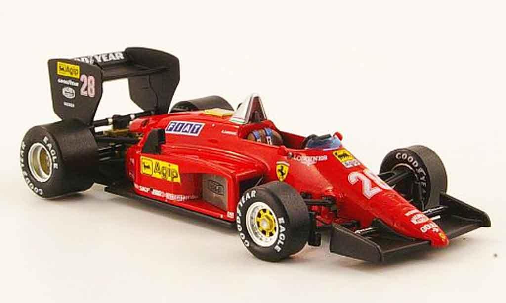 Ferrari 156 1985 1/43 IXO no.28 r.arnoux gp brasilien miniature