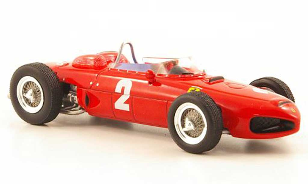 Ferrari 156 1961 1/43 IXO F1 No.2 Sieger GP Italien Monza diecast model cars