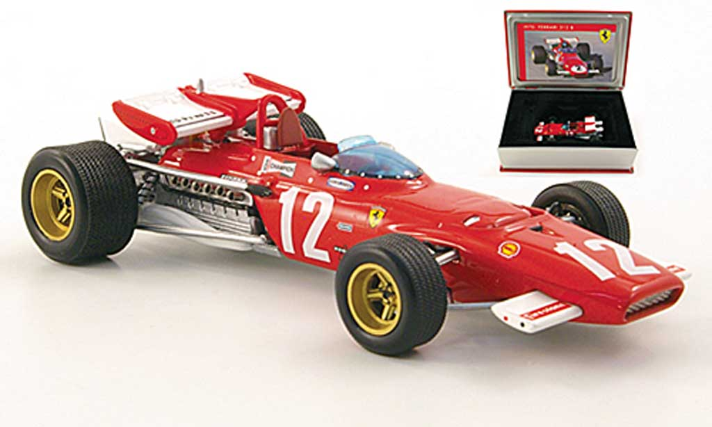 Ferrari 312 B 1/43 IXO 312No.12 J. Ickx GOsterreich 1970 miniature