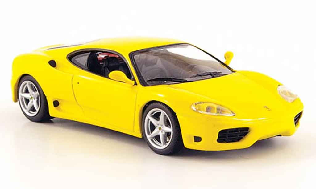 Ferrari 360 Modena 1/43 IXO yellow diecast model cars