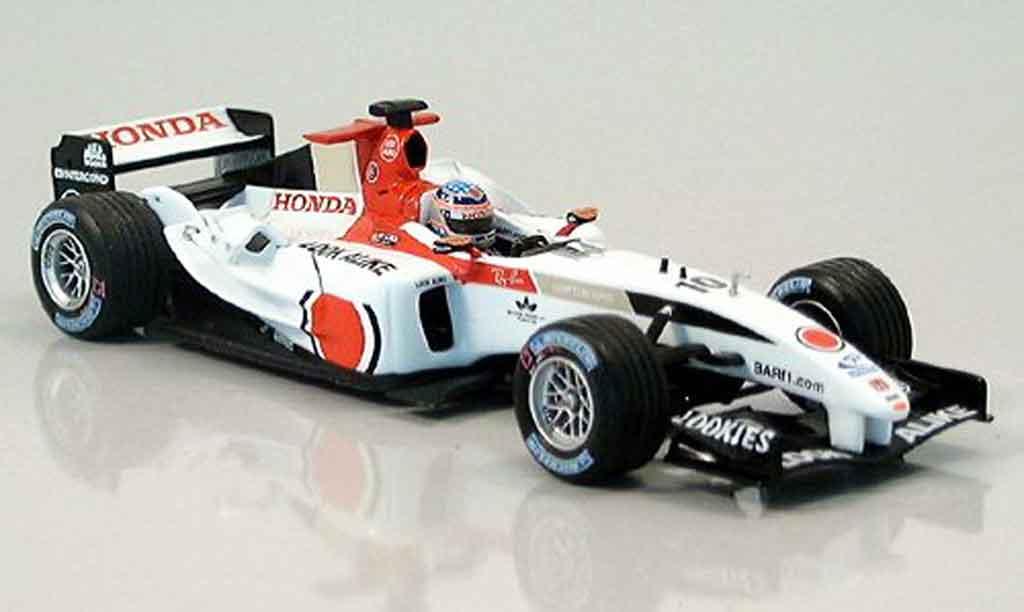 Honda F1 1/43 Minichamps BAR T. Sato British GP 2004 miniature