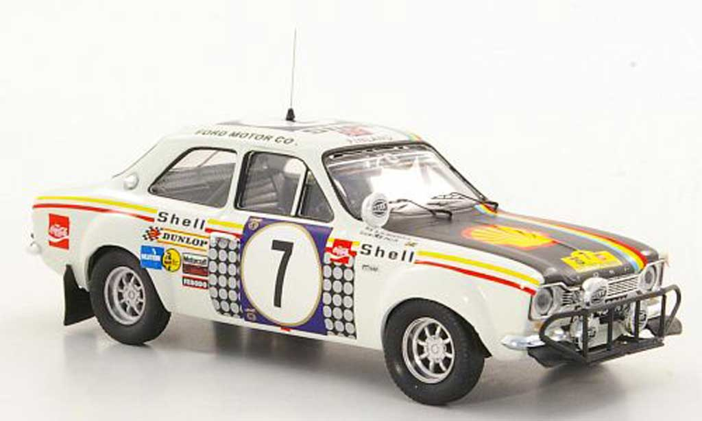 Ford Escort RS 1600 1/43 Trofeu No.7 H.Mikkola / G.Palm Safari Rally 1972 diecast model cars