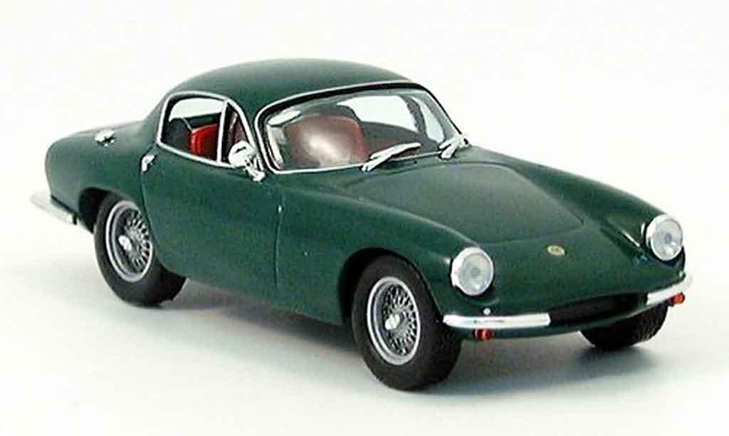 Lotus Elite 1/43 IXO verte 1962 miniature