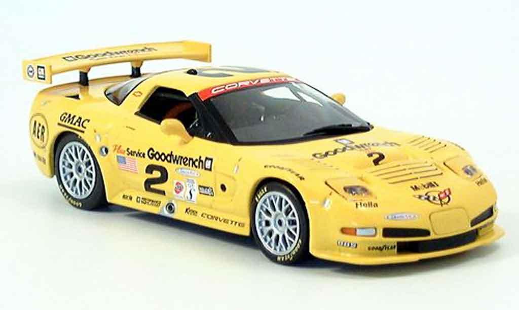 Chevrolet Corvette C5 1/43 IXO Sieger Daytona No. 2 2002 miniature
