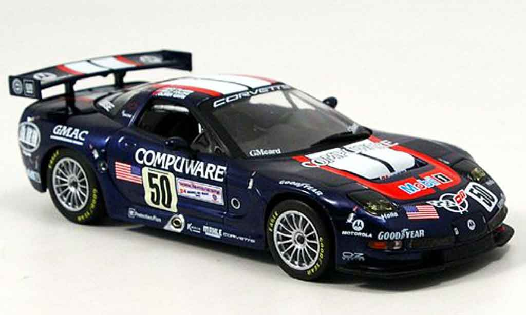 Chevrolet Corvette C5 1/43 IXO LeMans Pilgrim Collins Gavin 2003 diecast model cars