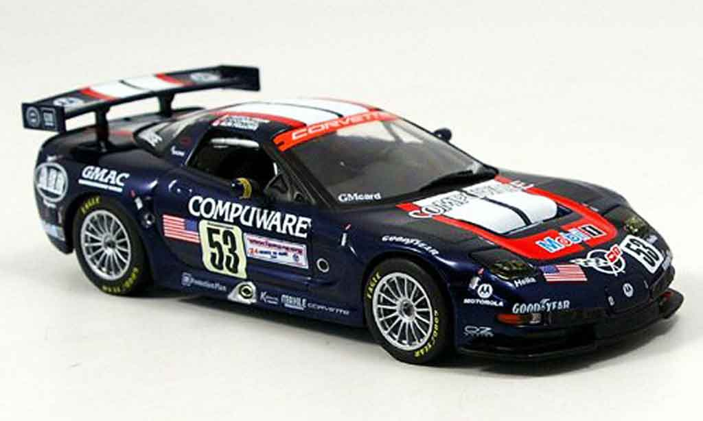 Chevrolet Corvette C5 1/43 IXO R LeMans Fellows OConnell Freon 2003 diecast