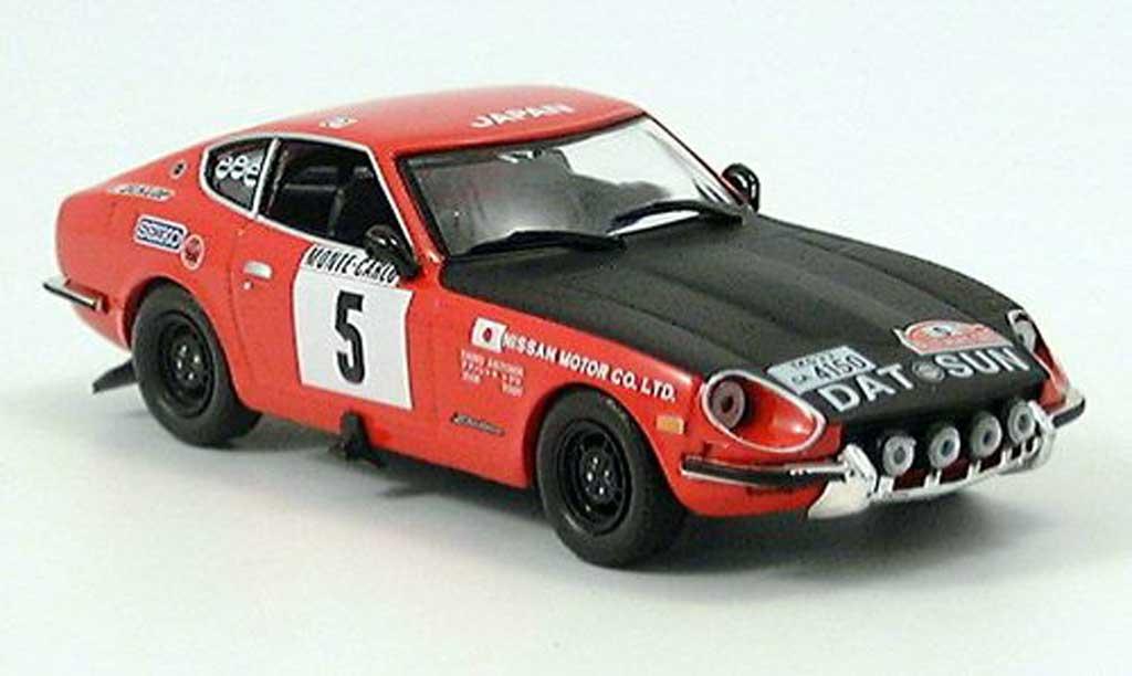 Datsun 240Z 1/43 IXO Monte Carlo Aaltonen-Todt 1972 miniature