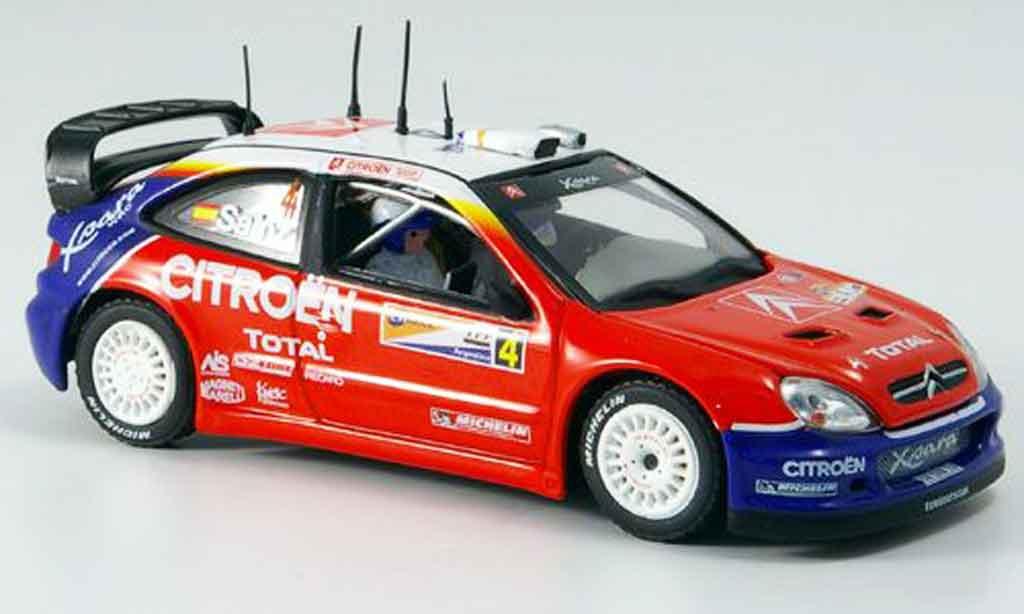 Citroen Xsara WRC 2004 1/43 Vitesse sieger argentine sainz miniature