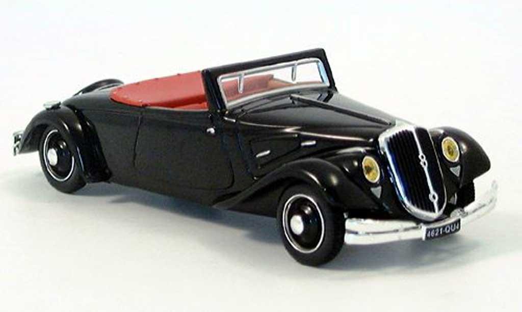 Citroen Traction 22 1/43 Norev CV cabriolet noire  miniature