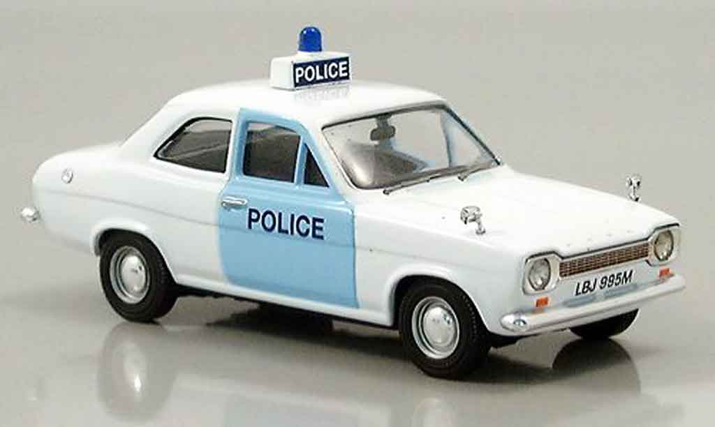Ford Escort MK1 1/43 Vanguards police Suffolk miniature