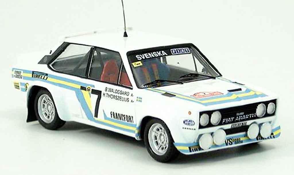 Fiat 131 1/43 Trofeu Abarth Waldegaard Thoszelius Monte Carlo diecast