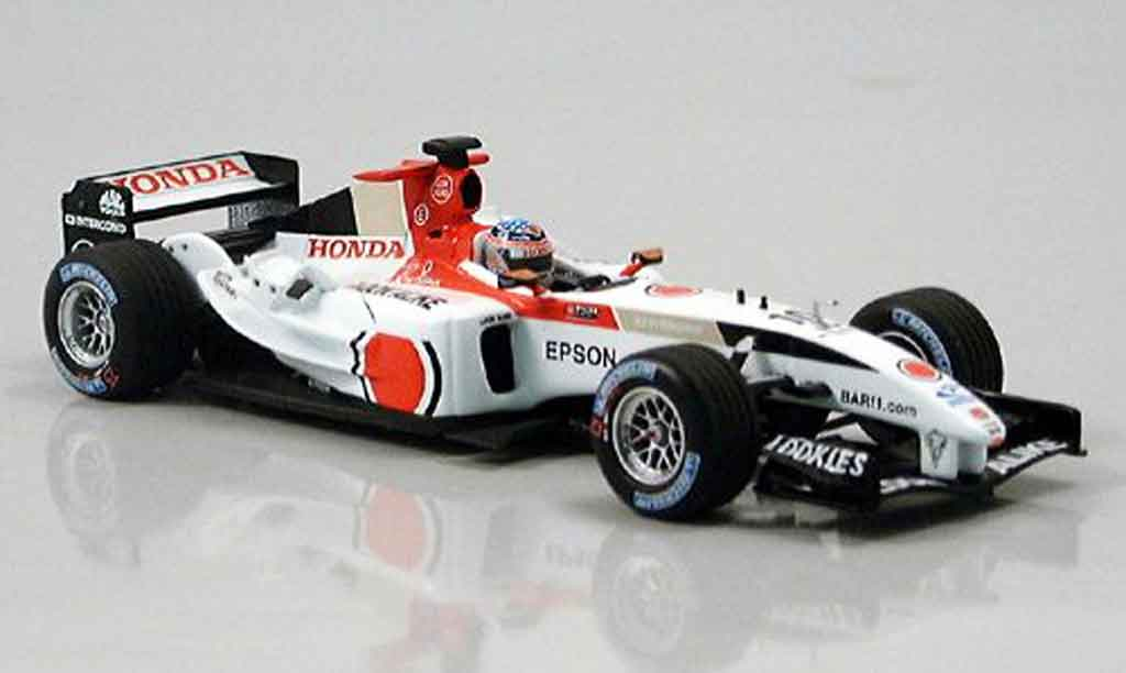 Honda F1 1/43 Minichamps BAR 006 T.Sato GP Japan 2004 miniature