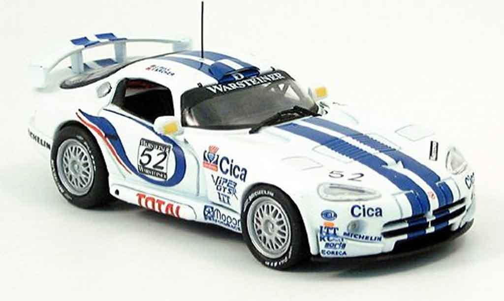 Dodge Viper GTS R 1/43 Eagle No.52 TeamOreca Weltmeister FIA GT2 1997 miniature