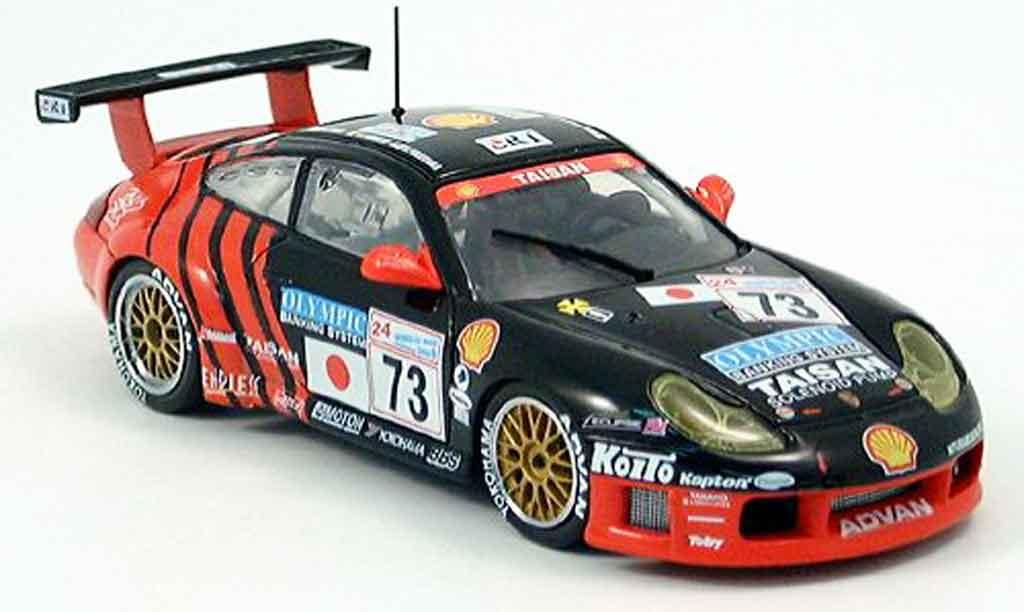 Porsche 996 GT3 1/43 Ebbro R LM Taysan No. 73 diecast model cars