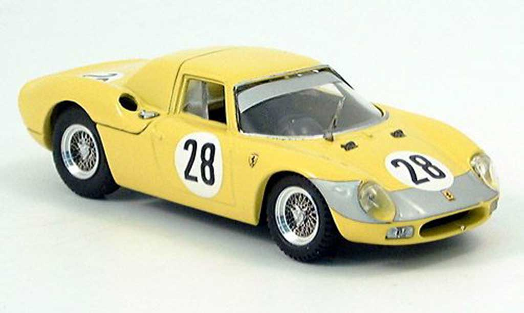 Ferrari 250 LM 1966 1/43 Best Parigi Gosselin-Nobelt No.28 miniature