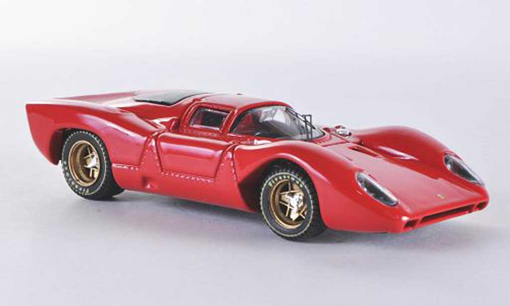 Ferrari 312 P 1/43 Best Coupe rouge 1969 miniature
