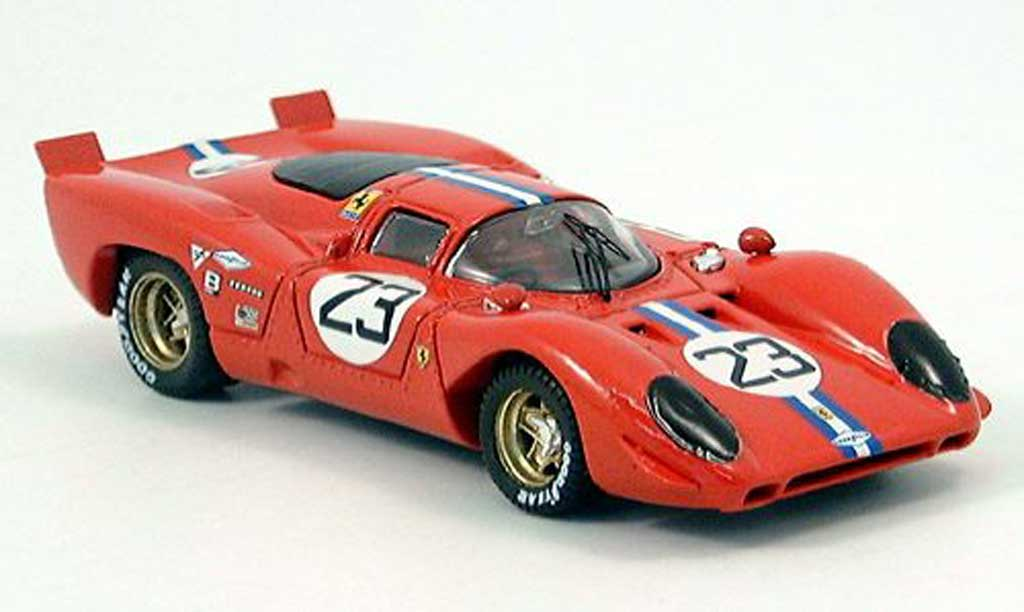 Ferrari 312 P 1/43 Best Coupe Daytona iper-Adamowicz 1970 diecast model cars
