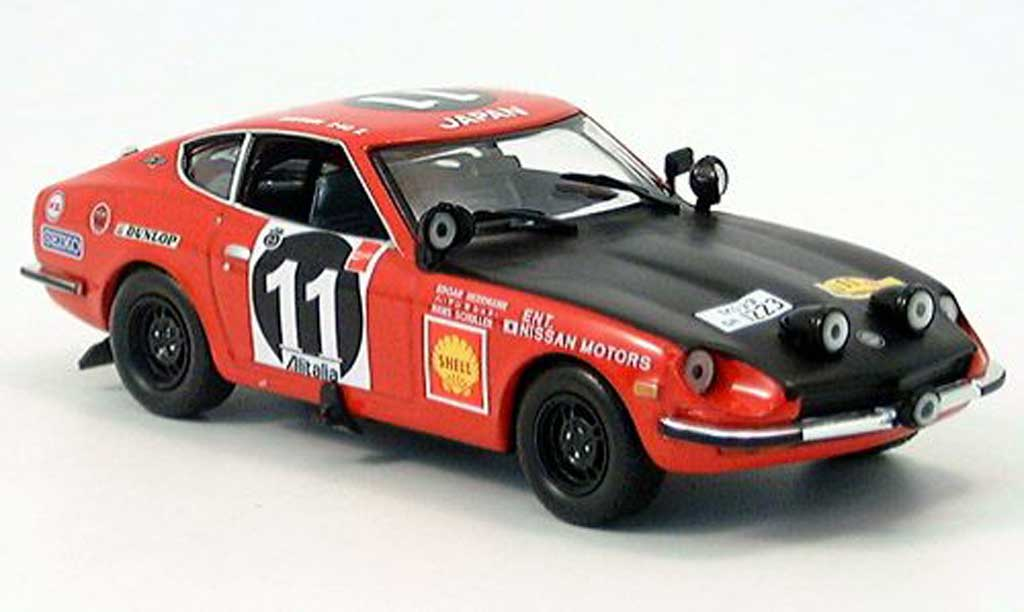 Nissan 240 ZG 1/43 IXO Datsun Metha-Drews Sieger Safari 1973 miniature