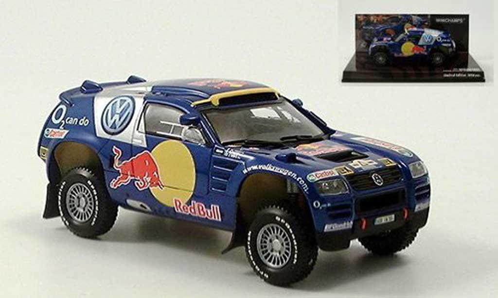Volkswagen Touareg Dakar 1/43 Minichamps Touareg Presentation Motor-Show Essen 2004 miniature