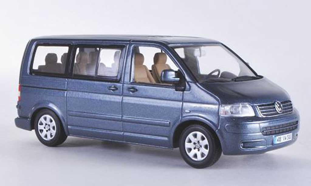 Volkswagen T5 1/43 Minichamps Multivan grise 2003 miniature