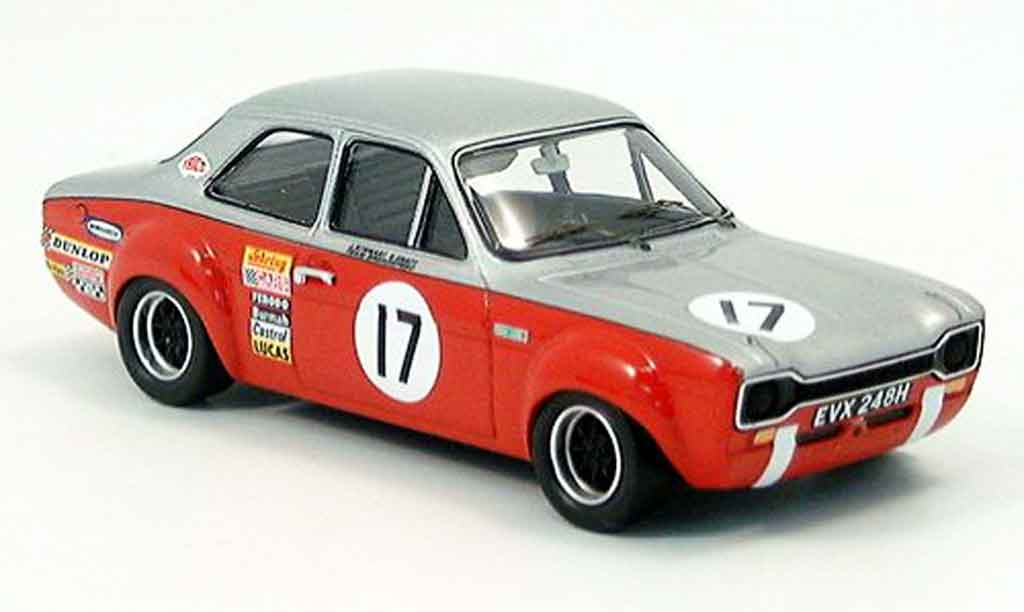 Ford Escort MK1 1/43 Trofeu 1600 Silverstone J.Stewart Craft diecast model cars