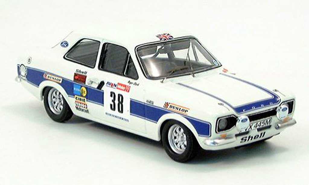 Ford Escort RS 2000 1/43 Trofeu Clark-Porter GB 1974 miniature