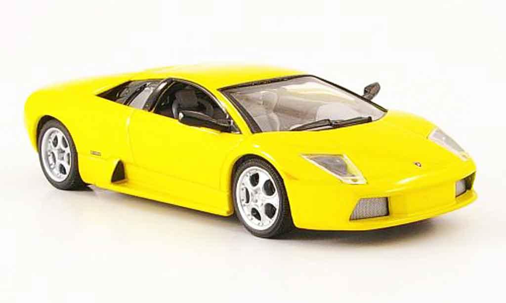 Lamborghini Murcielago 1/43 IXO yellow 2003 diecast