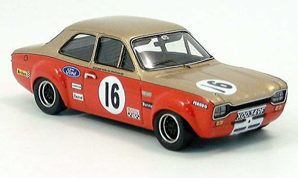 Ford Escort RS 1600 1/43 Trofeu 16000 TC B. Hatch 1968 miniature