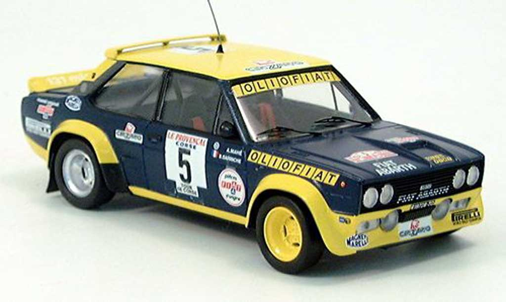 Fiat 131 Abarth 1/43 Trofeu Nr.5 Sieger tour de Corse 1977 diecast model cars