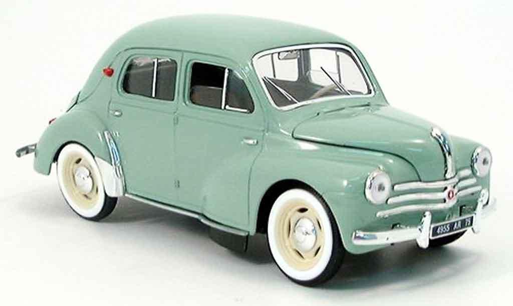 Renault 4CV 1/18 Solido grise 1954 miniature