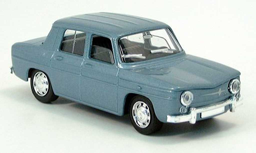 Renault 8 1/43 Solido Major turquoise 1965 miniature