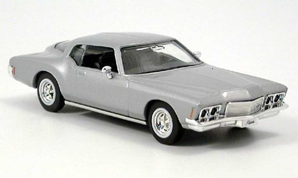 Buick Riviera 1971 1/43 Yat Ming GS grise miniature