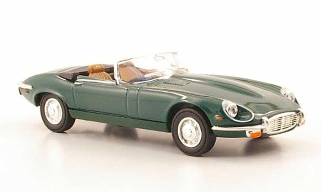 Jaguar E-Type 1971 1/43 Yat Ming 1971 Roadster grun coche miniatura