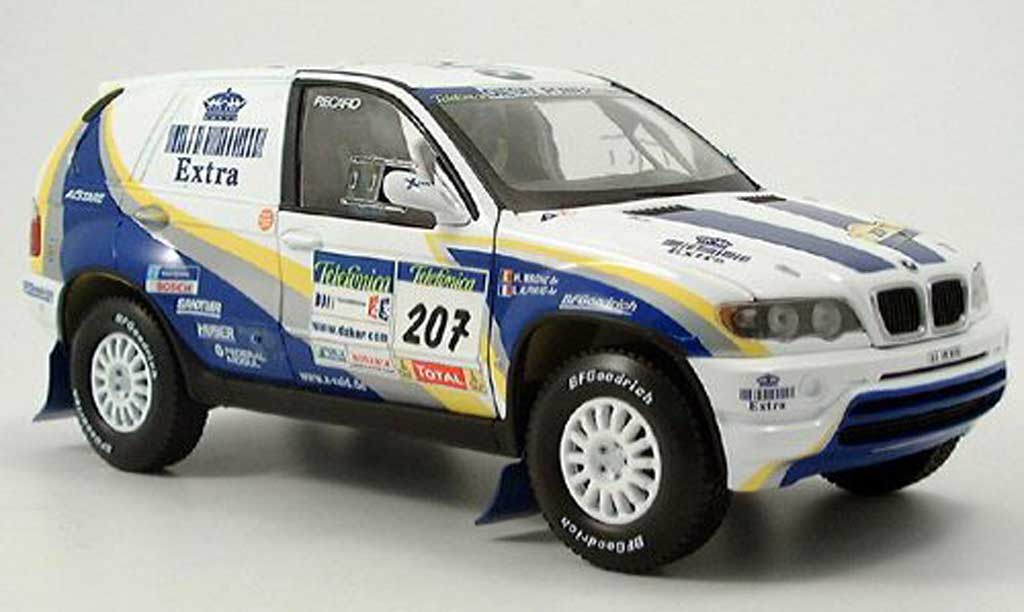Bmw X5 E53 1/18 Solido Rally Dakar 2004 miniature