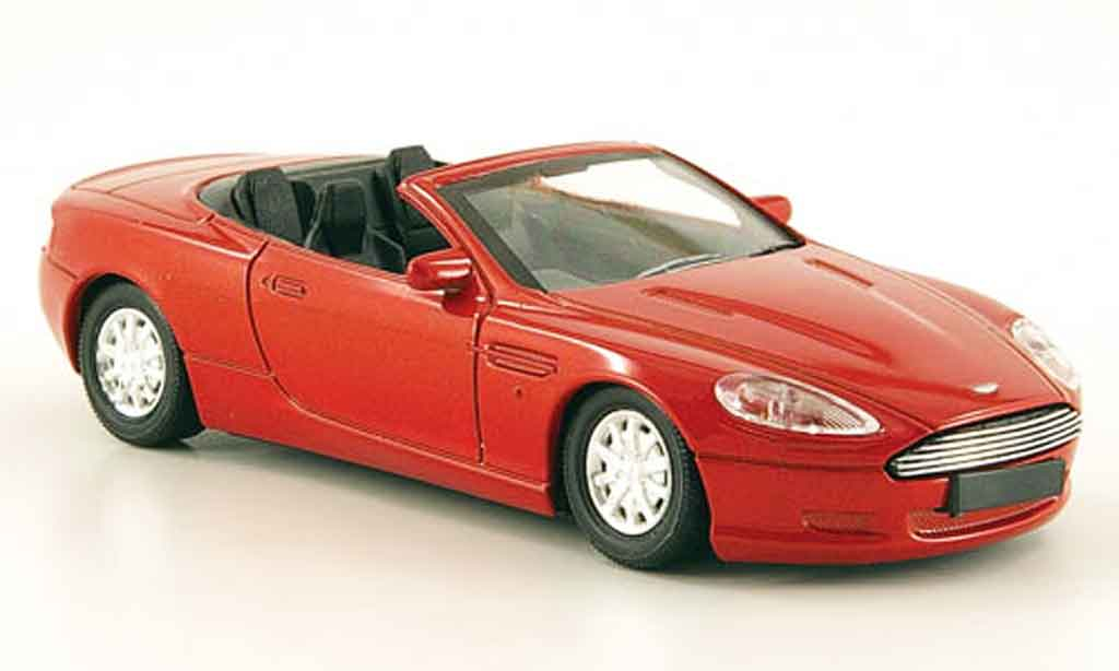 Aston Martin DB9 Volante 1/43 Solido cabriolet  rouge 2005 miniature