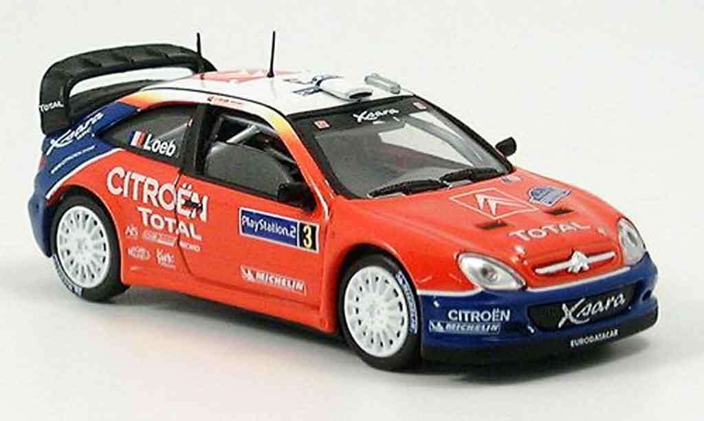 Citroen Xsara WRC 2004 1/43 Solido weltmeister loeb miniature