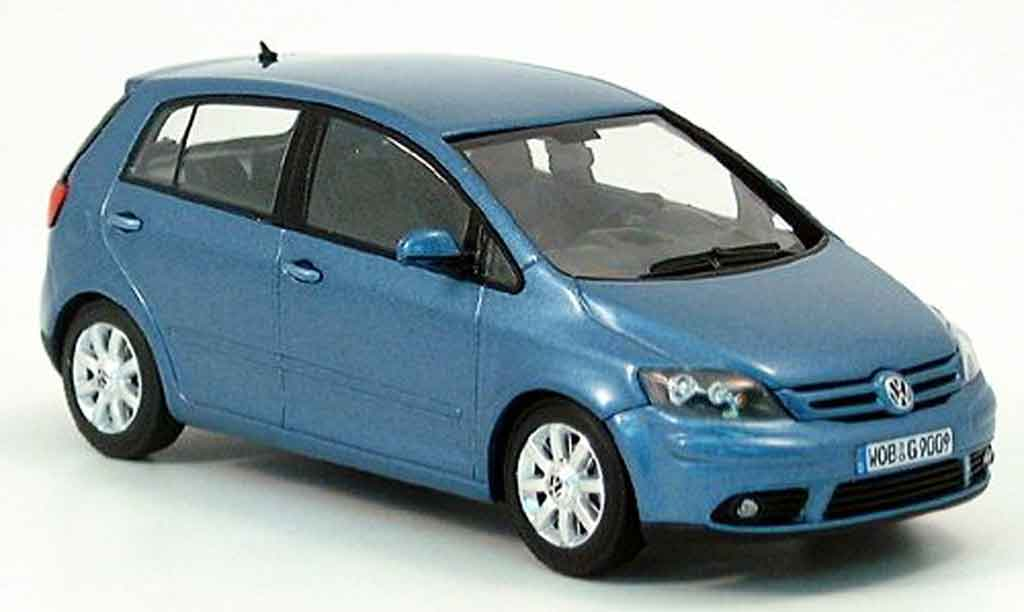 Volkswagen Golf V 1/43 Minichamps plus bleu 2005 diecast model cars