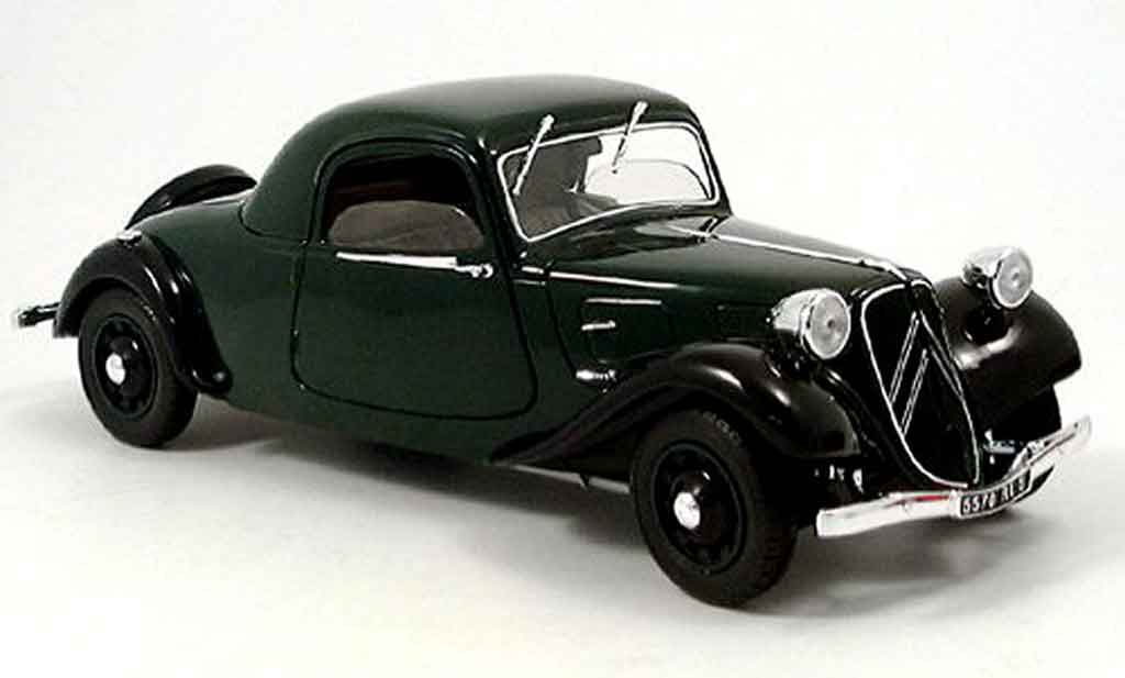 Citroen Traction 15 1/18 Solido cv traction av 11 coupe 1938 miniature