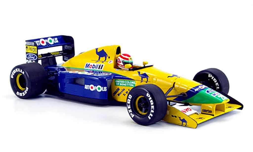 Ford F1 1991 1/18 Minichamps benetton b 191 n. piquet miniature