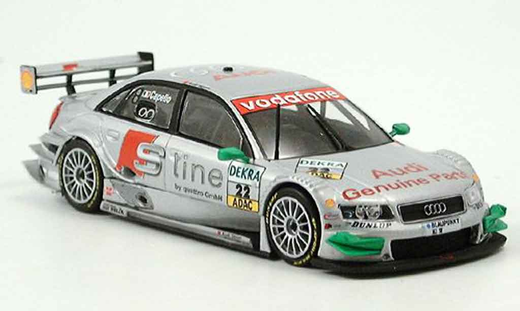 Audi A4 DTM 1/43 Minichamps Shanghai Capello 2004 diecast model cars
