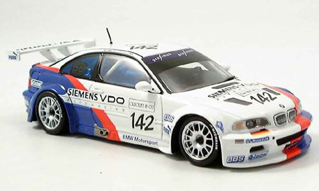 Bmw M3 E46 1/43 Minichamps GTR Spa Muller Muller Stuck 2004