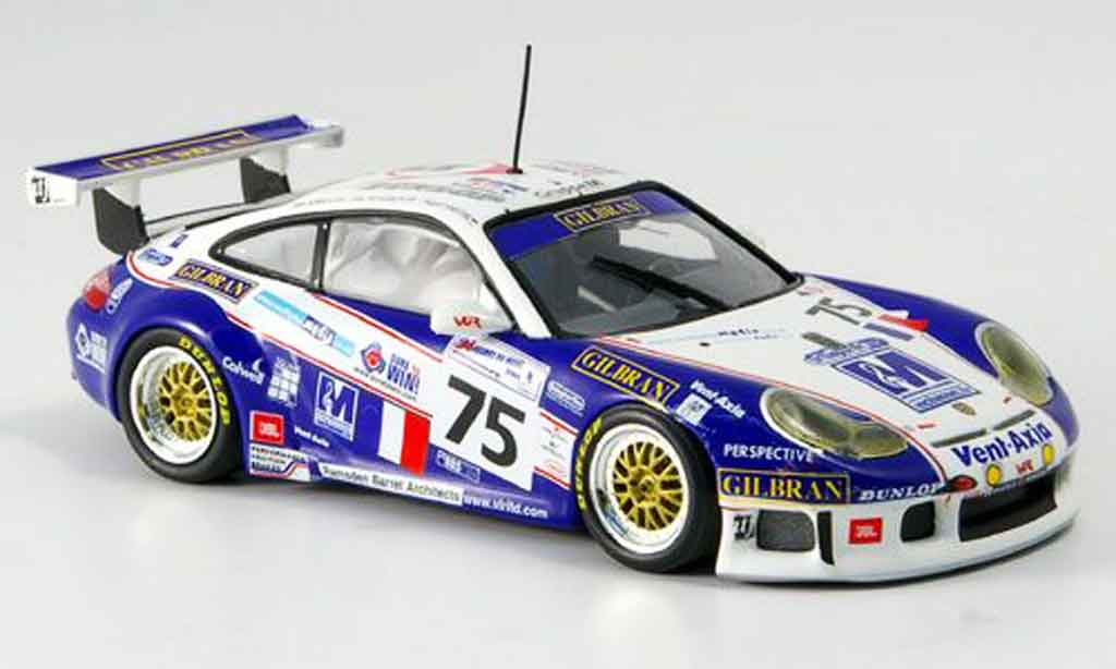 Porsche 996 GT3 RS 1/43 Minichamps LeMans Sugden Khan Savech 2004 diecast model cars