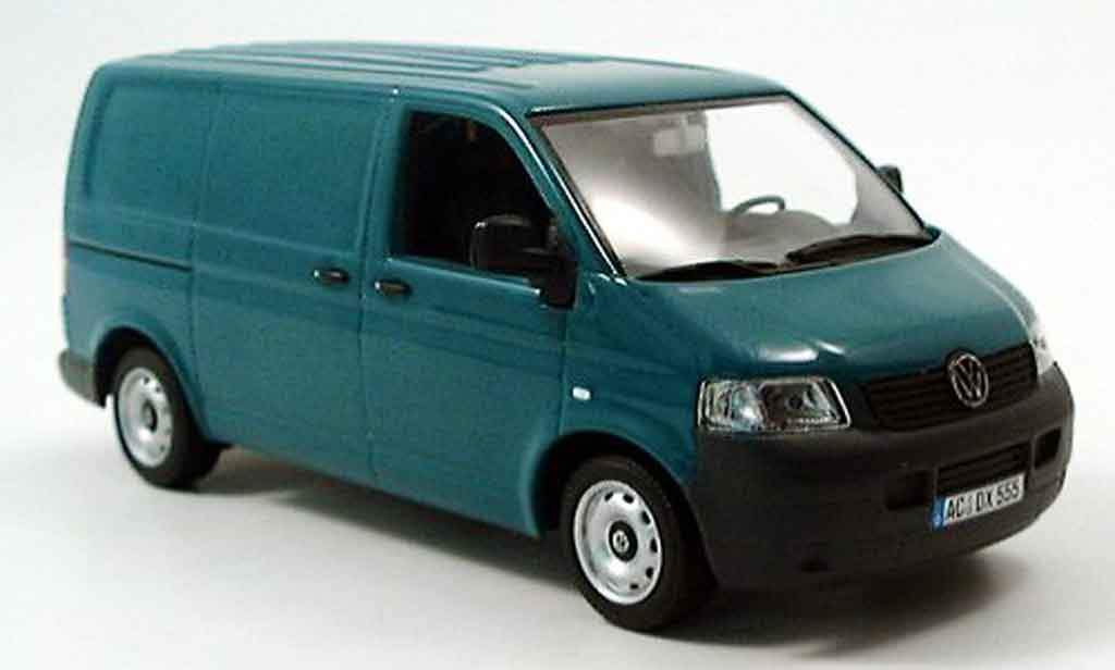 Volkswagen Combi 1/43 Minichamps t5 transporter grun 2003 coche miniatura