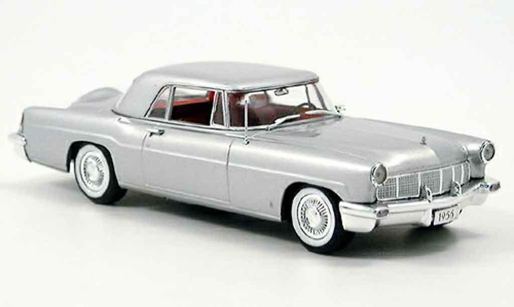 Lincoln Continental 1956 1/43 Minichamps MK II grise miniature