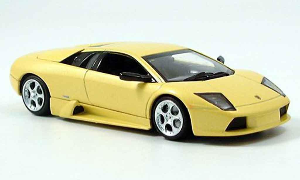 Lamborghini Murcielago 1/43 Minichamps jaune 2001 miniature
